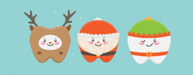 3 christmas teeth characters