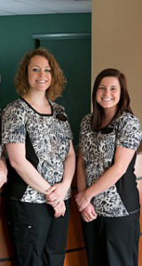 Heidi and Kara - our teeth whitening specialists